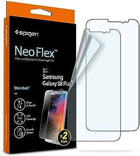 جالاكسي اس 8 بلس , Galaxy S8 Plus , لاصق حماية مرن من سبيجن نيو فليكس عدد 2