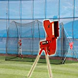 Heater Sports Combo Pitching Machine & 24' Cage Combo