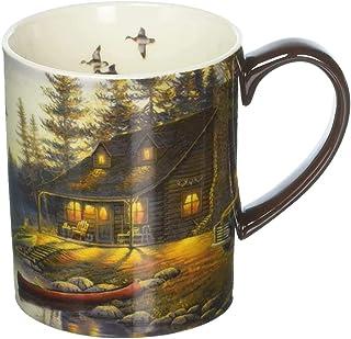 Lang Lake Retreat Mug by Sam Timm, 14 oz., Multicolored