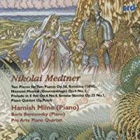 Two Pieces for Two Pianos Op 58 by NIKOLAI MEDTNER (2009-05-01)