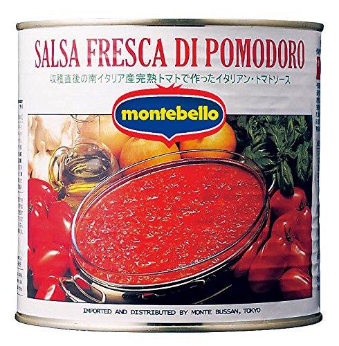 モンテベッロ サルサフレスカ・ディ・ポモドーロ 2.6kg缶