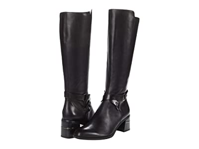 Naturalizer Shore Regular Shaft (Black Leather) Women