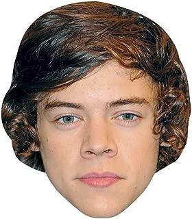 Harry Styles Celebrity Mask, Card Face and Fancy Dress Mask