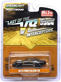 Greenlight Mad Max Last of The V8 Interceptors Chrome 1973 Ford Falcon XB Hollywood Vehicle 1:64 Scale
