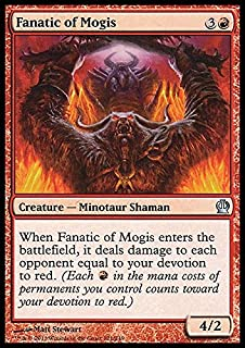 Magic: the Gathering - Fanatic of Mogis (123/249) - Theros