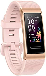 HUAWEI Band 4 Pro, Built-in GPS, Workout Guidance - Pink Gold