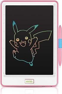 NEWYES Bloc de Notas electrónico con Pantalla a Color y Pantalla LCD de 10 Pulgadas para niños y Adultos - Rosa