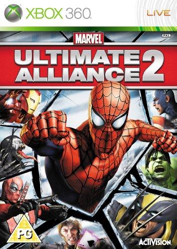 Marvel Ultimate Alliance 2 Xbox 360 UK PAL **FREE UK POSTAGE**