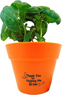 thanks for helping me grow flower pot