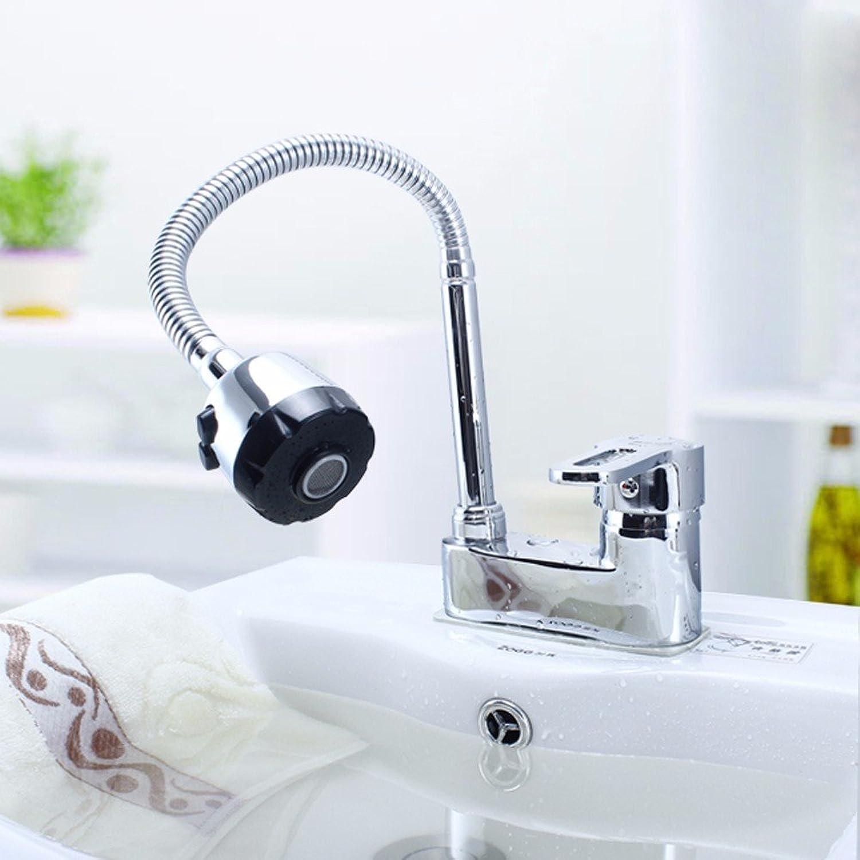 LHbox 000 Die schwenkbare Waschbecken, WC Zwei Lcher, 3 Lcher Waschtischmischer, Badezimmer Schrnke und Kalten Wasserhahn