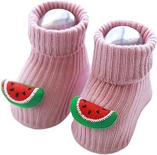 TENDYCOCO, Calcetines Antideslizantes para Bebés Y Niños Calcetines Antideslizantes Calcetines de Algodón Cálidos de Invierno para Bebés
