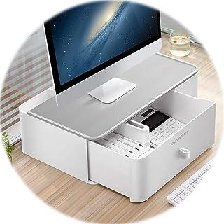 Base del Equipo PC Oficina Riser Monitor De Escritorio Organizador Multi-Box Cinética Gaveta De Almacenamiento (Color : Gr...