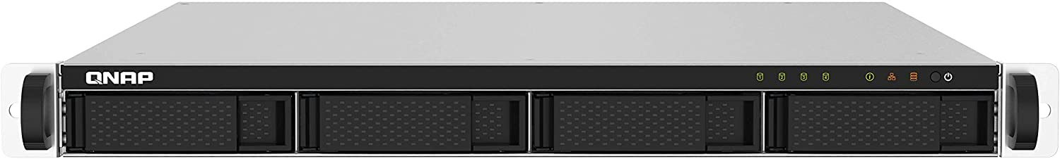 QNAP TS-432PXU-2G 4 Bay High-Speed SMB Rackmount NAS with Two 10GbE and 2.5GbE Ports