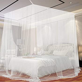 Portable Verri/ère De Lit,B/éb/é Yourte Moustiquaire,Protection des Insectes Volants Filet De Canop/ée pour Berceau Lits Tente A 65x120cm