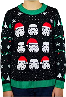 Star Wars Stormtroopers Ugly Christmas Sweater Boys/Girls 6yr - 12y Kids Sweater