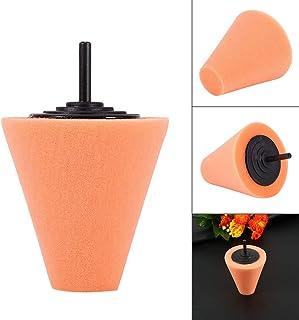 Sponge Cone Polishing Foam Pad, 1 st. poleringsskum kongiltiga polerskivor för hjul – använd med borrmaskin