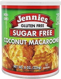 Jennies Macaroons, Coconut, Sugar Free, 8-Ounce