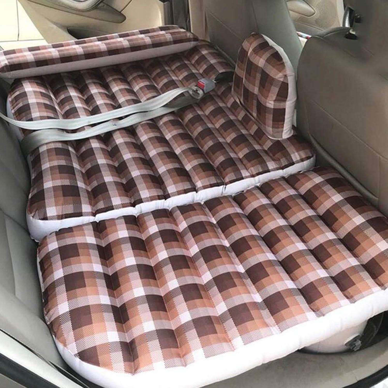 Giow Auto Aufblasbares Bett Auto Universal Rücksitz Reisebett SUV Faltbare Tragbare Isomatte Anti-Vibration Auto Zubehr Matratze Luftmatratze Aufblasbares Reisebett Auto Luftmatratze infl