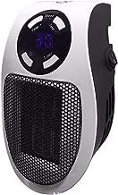 TYX-SS Calentador De Espacio Portátil, Mini Calefactor Cerámico 500W, Plug-In Enchufe, para Cuarto Baño Oficina