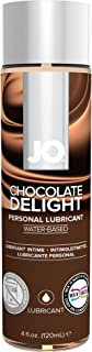 JO H2O Water Based Flavored Personal Lubricant, 4 Ounce Chocolate Delight Lube for Men, Women and Couples (Plant Sourced Glycerin and Free of Fragrance)