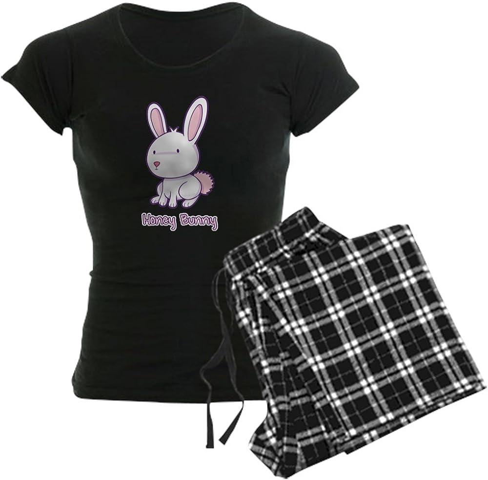 CafePress Honey Bunny Women's PJs Pajamas Great interest Max 64% OFF Dark