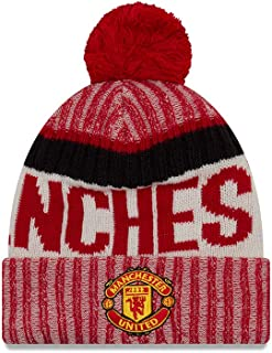 New Era Manchester United On-Field Sport Pom Knit Hat/Cap