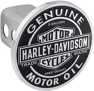 HARLEY-DAVIDSON B&S Motor Oil Trailer Hitch Cover, Vintage Finish, 2 in HDHC362