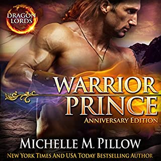 Warrior Prince audiobook cover art