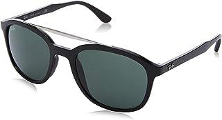 نظارة شمسية للرجال من راي بان 0RB4290 601/71 53، لون اسود/اخضر