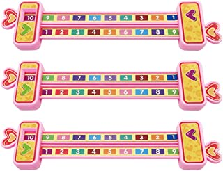 TOYANDONA Digital Decomposition Ruler Combination Mathematical Scale Addition Subtraction Educational Toy for Kindergarten...