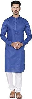 Manyavar Men's Cotton Blend Other Kurta Pyjama