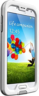 LifeProof FRĒ Samsung Galaxy S4 Waterproof Case - Retail Packaging - WHITE/GREY (Discontinued by Manufacturer)