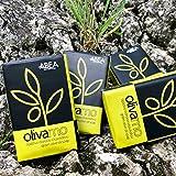 ABEA® | 4er-Set grüne Olivenöl-Seife | 4x 125g (500g) | reine, vegane Naturseife | Spar-Pack 3+1 Stück | geeignet als festes Dusch-öl, Haarseife, Handseife und Dusch-seife ohne Palmöl - 3