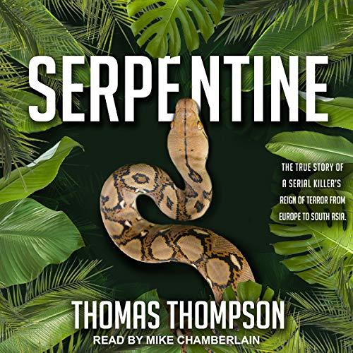 Serpentine audiobook cover art