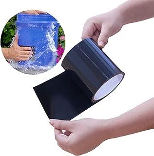Janolia Cinta Impermeable, PVC Reparación de Fugas Cinta Autoadhesiva 150x10CM , Herramienta de Fijación para Emergencia Pipa Plumbing y Tubo de Agua Fugas, Cables Eléctricos