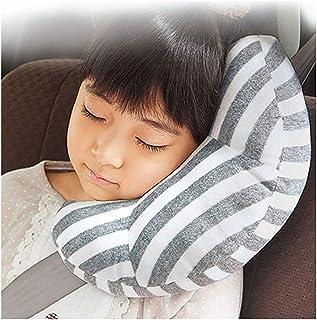 seggiolino auto cintura coperture per neonati e bambini Cuscino di sicurezza per bambini Louisayork Baby morbido cuscino poggiatesta neck-adjustable Support