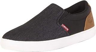 حذاء رياضي كاجوال من قماش الدنيم بدون رباط للرجال من Levi's Jeffrey 501