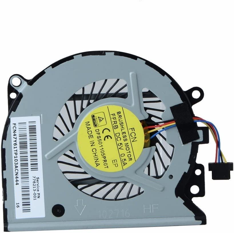 CPU Cooling quality assurance Fan for HP 15-u363cl ENVY 15-U15-u337cl x360 15-u399 Ranking TOP5