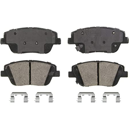 2014 Fits Kia Optima SX Turbo Rear Ceramic Brake Pads with Hardware Kits and Two Years Manufacturer Warranty Note: Note:w//Manual Parking Brake