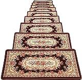 Escalera alfombra alfombra alfombra escalera Pisada escalera Pisos Alfombras Alfombras Riser Colinas de piso Anti resoltamiento Auto adhesivo Escalera Ottomans Inicio, Personalizado, Escalera Paso Pis