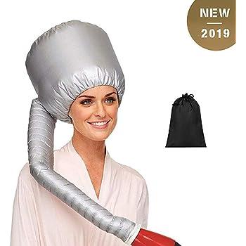 Qinsir Casque Sèche Cheveux Maison,Casque Sèche Chauffants