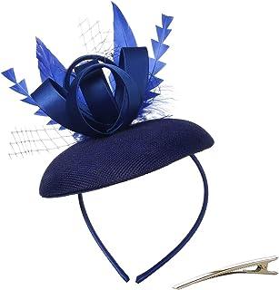 قبعات ODD ملونة فاسيناتور للنساء عقال عيد الميلاد الزفاف الشاي حزب مشبك الشعر