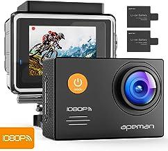 APEMAN A70 Action Cam Impermeabile Wi-Fi FHD, 14 MP, Nero