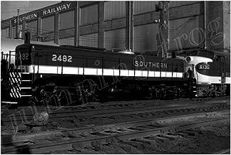 Southern Railway diesel locomotive #2482 & #6131 5x7