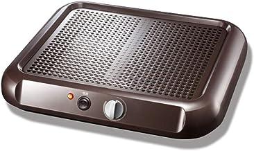 Calentador de pies Calentador infrarrojo lejano Masaje Ahorro de energía Estufa de pie caliente Oficina en el hogar Estudiante Calzado Pie Patín Ahorro de energía Espacio personal negro 100 W