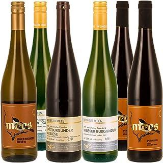 Weingut Mees BURGUNDER TROCKEN PROBIERPAKET Weißburgunder Grauburgunder Spätburgunder Wein Deutschland Nahe Paket 6 x 750 ml