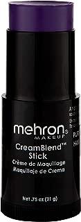 Mehron Makeup CreamBlend Stick (0.75 Ounce) (PURPLE)