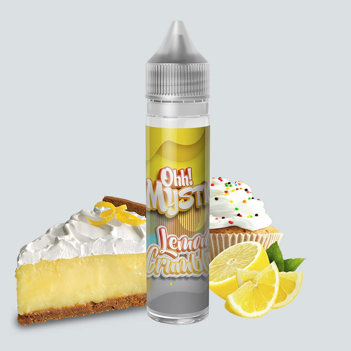 Ohh! Mystic Lemon Crumble 50ML TPD - E-Liquid - Sin Nicotina - 60ml formato TPD - 0MG Nicotina - E-Liquido para Cigarrillos Electronicos - E Liquidos para Vaper…