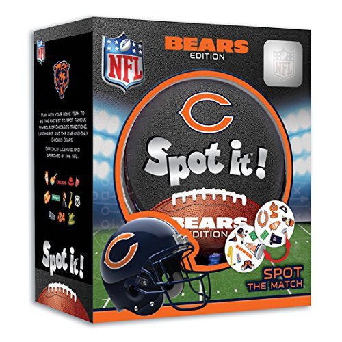 MasterPieces NFL Spot It! Chicago Bears Edition