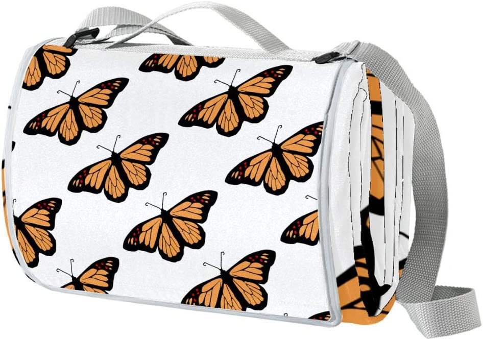 XJJUSC Beautiful Soldering Butterfly Camping Cover Blankets Beach Blanket Inventory cleanup selling sale